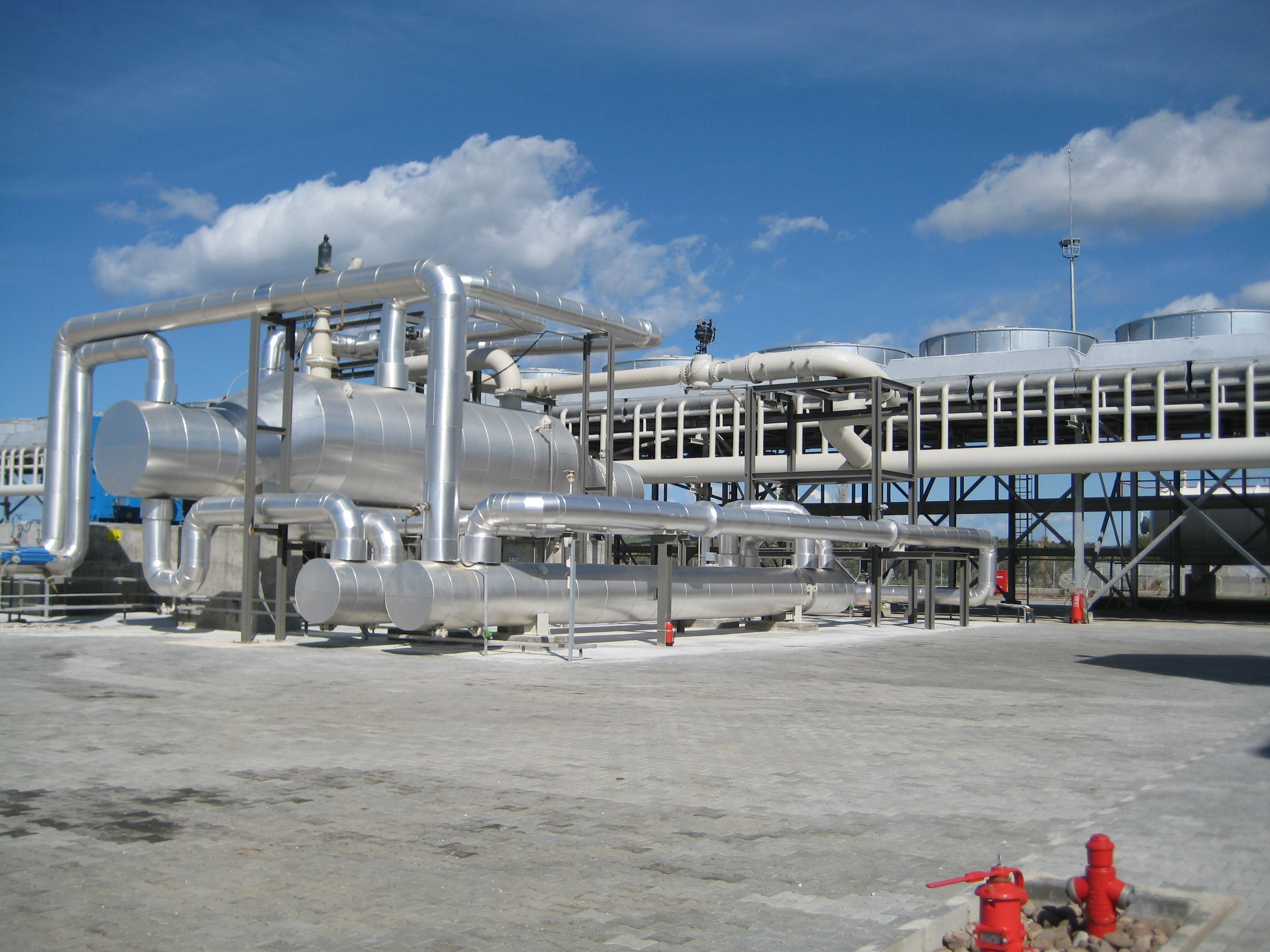 Binary geothermal power plant in Canakkale up and running